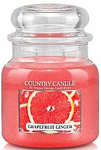 Düfte, Parfümerie und Kosmetik Duftkerze im Glas Grapefruit & Ginger - Country Candle Grapefruit Ginger