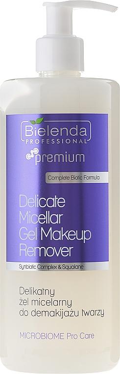 Mizellen-Gesichtswaschgel zum Abschminken - Bielenda Professional Microbiome Pro Care Delicate Micelar Gel Makeup Remover — Bild N1