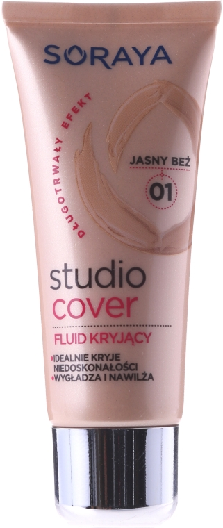 Deckendes Make-up mit Vitamin E - Soraya Studio Cover Make-up Cover up