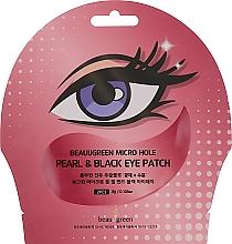 Düfte, Parfümerie und Kosmetik Hydrogel-Augenpatches gegen dunkle Augenringe mit Perlen und Trüffelextrakt - Beauugreen Micro Hole Pearl & Black Eye Patch