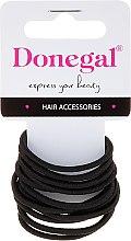 Düfte, Parfümerie und Kosmetik Haargummis schwarz 12 St. FA-5820 - Donegal