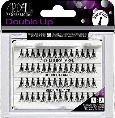 Wimpernbüschel-Set - Ardell Double Up Medium Black Lashes — Bild N1