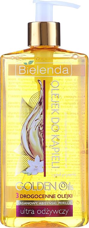 Pflegendes Bade- und Duschöl - Bielenda Golden Oils — Bild N1