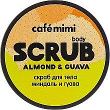 Körperpeeling mit Guavenextrakt und Mandelöl - Cafe Mimi Body Scrub Almond & Guava — Bild N3