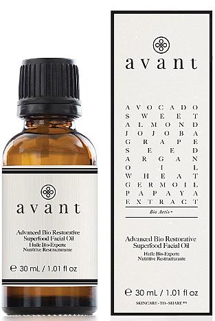 Extra pflegendes Gesichtsöl - Avant Advanced Bio Restorative Superfood Facial Oil — Bild N1