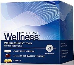 Düfte, Parfümerie und Kosmetik Vitaminkomplex für Männer - Oriflame Wellness Pack Man