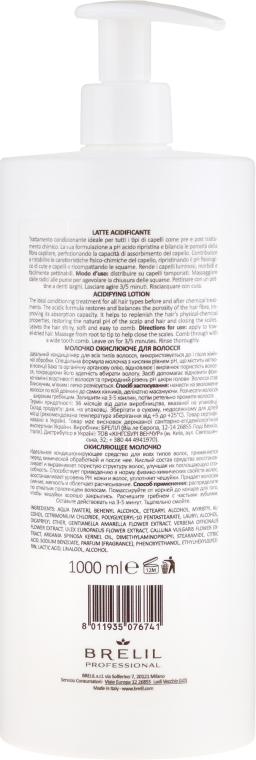 Oxidierende Lotion für gefärbtes Haar mit Arganöl - Brelil Bio Treatment Colour Lotion — Bild N2