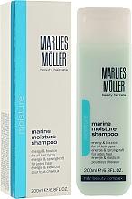 Düfte, Parfümerie und Kosmetik Feuchtigkeitsspendendes und vitalisierendes Shampoo - Marlies Moller Marine Moisture Shampoo