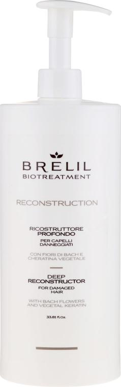 Intensiv Regenerierende Haarspülung mit Bachblüten und Keratin - Brelil Bio Traitement Reconstruction Deep — Bild N1