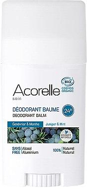 Bio Deostick mit Wacholder und Minze - Acorelle Deodorant Balm — Bild N1