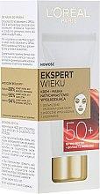 Düfte, Parfümerie und Kosmetik Glättende Creme-Maske für das Gesicht mit Goji-Beeren 50+ - L'Oreal Paris Expert Wieku 50+