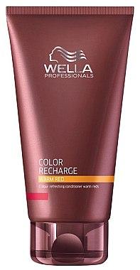 Farbauffrischender Conditioner in warmroten Nuancen - Wella Professionals Color Recharge Warm Red — Bild N1