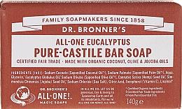 Düfte, Parfümerie und Kosmetik Seife mit Eukalyptus und Bio-Ölen - Dr. Bronner's Pure Castile Bar Soap Eucalyptus
