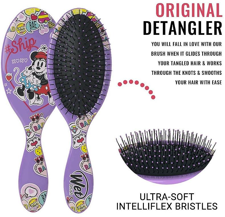 Haarbürste für Kinder - Wet Brush Original Detangler Disney Classics So In Love — Bild N3