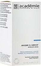 Gesichtsmaske mit Aprikosenextrakt - Academie Instant Radiance Apriot Mask — Bild N1