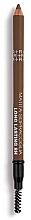 Düfte, Parfümerie und Kosmetik Langanhaltender Augenbrauenstift mit Bürste - Rougj+ Glamtech 8H Long-Lasting Brow Pencil
