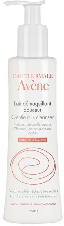 Sanfte beruhigende Gesichtsreinigunsmilch zum Abschminken für trockene bis sehr trockene und empfindliche Haut - Avene Soins Essentiels Gentle Milk Cleanser — Bild N1