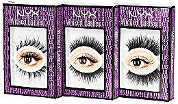 Künstliche Wimpern - NYX Professional Makeup Wicked Lashes — Bild N1
