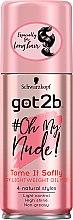 Düfte, Parfümerie und Kosmetik Pflegendes Entwirr-Haaröl - Schwarzkopf Got2b Oh My Nude Dry LightWeight Oil Mist