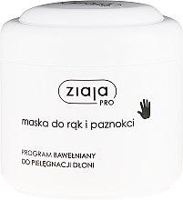 Düfte, Parfümerie und Kosmetik Hand- und Nagelmaske mit Rapsöl und Vitamin C - Ziaja Pro Hand and Nail Mask