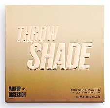 Düfte, Parfümerie und Kosmetik Konturpalette - Makeup Obsession Throw Shade Contour Palette