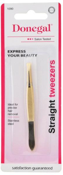 Pinzette 1090 gerade - Donegal Straight Tip Tweezers — Bild N2