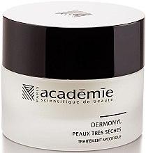 Pflegende und revitalisierende Nachtcreme 50+ - Academie Visage Nourishing And Revitalizing Cream Dermonyl — Bild N1