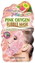 Düfte, Parfümerie und Kosmetik Erfrischende Blasengesichtsmaske mit Grapefruit - 7th Heaven Pink Oxygen Bubble Mask