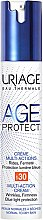 Düfte, Parfümerie und Kosmetik Universelle Anti-Aging Gesichtscreme SPF 30 - Uriage Age Protect Creme Multi-Actions SPF 30
