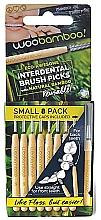 Düfte, Parfümerie und Kosmetik Interdentalzahnbürsten-Set Mini 8 St. - Woobamboo Toothbrush Interdental Brush Picks Small