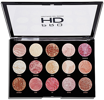 Schminkpalette - Makeup Revolution Pro HD Amplified Get Baked — Bild N2