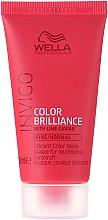 Düfte, Parfümerie und Kosmetik Leichte Haarmaske für feines bis normales, coloriertes Haar - Wella Professionals Invigo Color Brilliance Mask