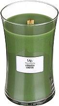 Düfte, Parfümerie und Kosmetik Duftkerze im Glas Evergreen - WoodWick Hourglass Candle Evergreen Conifere