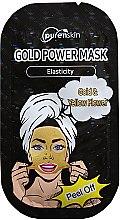 Düfte, Parfümerie und Kosmetik Peel-Off Gesichtsmasske mit Gold und Sonnenblumen-Extrakt - PurenSkin Gold Power Mask