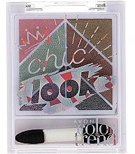 Düfte, Parfümerie und Kosmetik Lidschattenpalette - Avon Color Trend Chic Look Eyeshadow Palette
