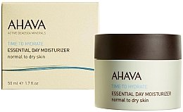 Düfte, Parfümerie und Kosmetik Feuchtigkeitscreme für sehr trockene Haut - Ahava Time To Hydrate Essential Day Moisturizer Very Dry Skin