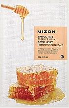 Düfte, Parfümerie und Kosmetik Feuchtigkeitsspendende Tuchmaske für das Gesicht mit Gelée Royale - Mizon Joyful Time Essence Mask Royal Jelly