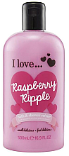 "Düfte, Parfümerie und Kosmetik Bade- und Duschcreme ""Raspberry Ripple"" - I Love... Raspberry Ripple Bath And Shower Creme"