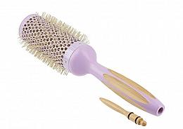 Düfte, Parfümerie und Kosmetik Bambus Rundbürste 43 mm - Ilu Hair Brush BambooM Round 43 mm