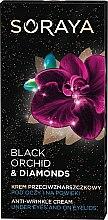 Düfte, Parfümerie und Kosmetik Anti-Falten Creme für die Augenpartie - Soraya Black Orchid & Diamonds Anti-Wrinkle Cream Under Eyes And On Eyelids