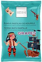 Düfte, Parfümerie und Kosmetik Badepastillen mit Traubenkern und Avocadoöl - Gabriella Salvete Fizzing Bath Pastille Grapes
