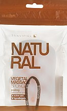 Düfte, Parfümerie und Kosmetik Massageschwamm - Suavipiel Natural Vegetal Massage Sponge