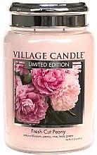 Duftkerze Fresh Cut Peony - Village Candle Fresh Cut Peony Glass Jar — Bild N2