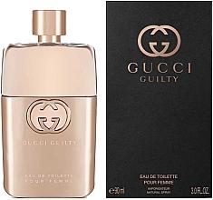 Düfte, Parfümerie und Kosmetik Gucci Guilty Eau de Toilette Pour Femme - Eau de Toilette