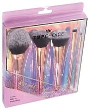 Düfte, Parfümerie und Kosmetik Make-up Pinselset 5 St. 37351 - Top Choice Rose Gold