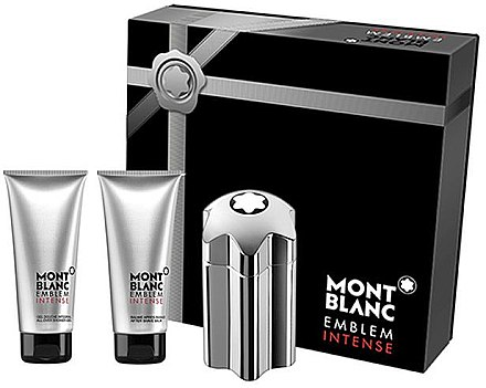 Montblanc Emblem Intense - Duftset (Eau de Toilette 100ml + After Shave Balsam 100ml + Duschgel 100ml) — Bild N1