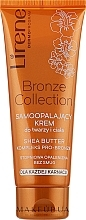 Düfte, Parfümerie und Kosmetik Selbstbräuner-Creme für Körper und Gesicht - Lirene Body Arabica Face & Body Cream