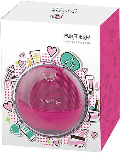 Gesichtsreinigungsbürste rosa - Purederm Sonic Face Brush Pink — Bild N1