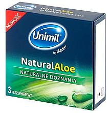 Düfte, Parfümerie und Kosmetik Femidome 3 St. - Unimil Natural Aloe