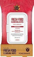 Düfte, Parfümerie und Kosmetik Gesichtsreinigungstücher mit Granatapfel für trockene Haut - Superfood For Skin Fresh Food Facial Cleansing Wipes